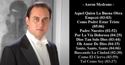 Descargar mp3 [ Tenor Aaron Medrano – 40 Himnos y Canticos Cristianos ]